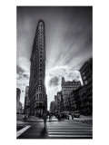 The Edges of the Flatiron Premium Photographic Print by Trey Ratcliff