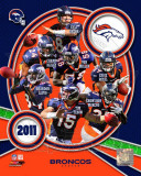 Denver Broncos 2011 Team Composite Photo