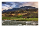The Impossible Mountains Premium Photographic Print by Trey Ratcliff