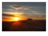Bright Morning, Stone Hut, Grass Roof Premium Photographic Print by Trey Ratcliff