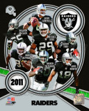 Oakland Raiders 2011 Team Composite Photo