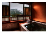 The Peaceful Ryokan Baths of Hakone Premium Photographic Print by Trey Ratcliff
