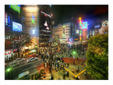 The Intersection Premium Photographic Print by Trey Ratcliff