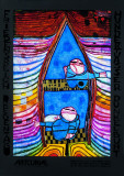 Tender Dinghi Prints by Friedensreich Hundertwasser