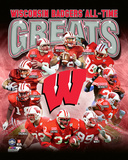 University of Wisconsin Badgers All Time Greats Composite Photographie
