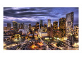 Five Minutes of Light in Houston Premium Photographic Print by Trey Ratcliff