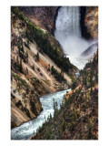 The Falls of Yellowstone Premium Photographic Print by Trey Ratcliff