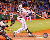 Evan Longoria hits a walk-off home run to allow Tampa Bay to win the 2011 AL Wild Card Photo