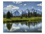 The Tetons, Revisited Premium Photographic Print by Trey Ratcliff
