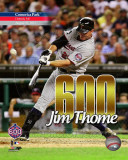 Jim Thome 600th Career Home Run with Overlay Photo