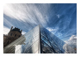 The Louvre Premium Photographic Print by Trey Ratcliff