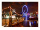 A Fun Night in London Premium Photographic Print by Trey Ratcliff