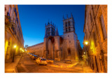 A Dusk Walk in Montpellier Premium Photographic Print by Trey Ratcliff
