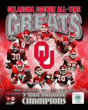 University of Oklahoma Sooners 7-Time National Champions Composite Photo