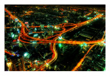 The Veins of Bangkok Premium Photographic Print by Trey Ratcliff