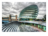 Grey London Premium Photographic Print by Trey Ratcliff