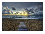 The Lonely but Beautiful Path Premium Photographic Print by Trey Ratcliff