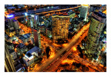 Rush Hour Premium Photographic Print by Trey Ratcliff