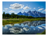 The Grand Tetons Premium Photographic Print by Trey Ratcliff