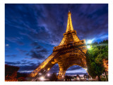 Deep in Paris Premium Photographic Print by Trey Ratcliff