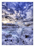 The Icy Pit to Hell Premium Photographic Print by Trey Ratcliff