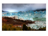 Approaching the Glacier after a Stormy Sunrise Premium Photographic Print by Trey Ratcliff