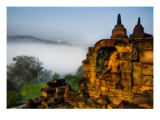 Buddha in the Jungle Highlands Premium Photographic Print by Trey Ratcliff