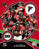 Atlanta Falcons 2011 Team Composite Photo