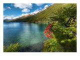 Circumnavigating the Lake Premium Photographic Print by Trey Ratcliff