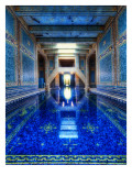 The Azure Blue Indoor Pool at Hearst Castle Premium Photographic Print by Trey Ratcliff