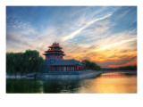 Entering the Forbidden City Premium Photographic Print by Trey Ratcliff