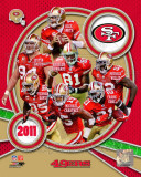 San Francisco 49ers 2011 Team Composite Photographie