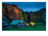 The Cavebirds in the Gentle Evening Premium Photographic Print by Trey Ratcliff