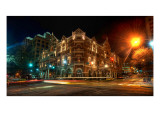 The Driskill at Night Premium Photographic Print by Trey Ratcliff