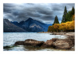 The Remarkable Mood Premium Photographic Print by Trey Ratcliff