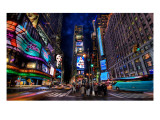 Times Square at Dusk Premium Photographic Print by Trey Ratcliff