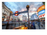 The London Underground - Piccadilly Premium Photographic Print by Trey Ratcliff