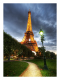 Paris HDR Premium Photographic Print by Trey Ratcliff