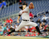 Tim Lincecum 2011 Action Photo