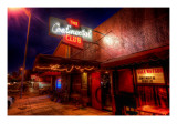 The Continental Club on South Congress in Austin Premium Photographic Print by Trey Ratcliff