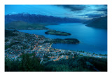 Queenstown From Above Premium Photographic Print by Trey Ratcliff