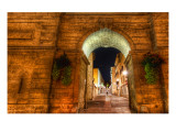 The Keyhole to the Old City Premium Photographic Print by Trey Ratcliff