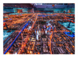 The Chinese Technopolis Premium Photographic Print by Trey Ratcliff