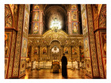 Ghost in the Cathedral Premium Photographic Print by Trey Ratcliff