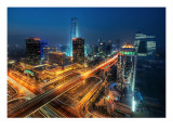 Bustling Beijing Premium Photographic Print by Trey Ratcliff