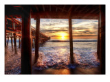 Under the Docks in California Premium Photographic Print by Trey Ratcliff
