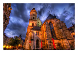 A Little Place I found on the way to dinner in Germany Premium Photographic Print by Trey Ratcliff