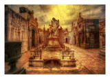 La Recoleta - The Crypts of Buenos Aires Premium Photographic Print by Trey Ratcliff