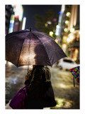 In the Rain in Tokyo Premium Photographic Print by Trey Ratcliff