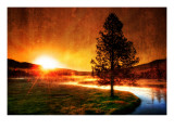 A view with my coffee Premium Photographic Print by Trey Ratcliff